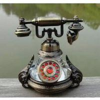 汽车香水座 新款古铜香水 汽车电话机模型香水座