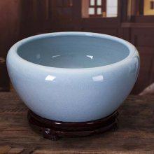 高温瓷大缸批发 定做陶瓷大缸 新款大缸价格