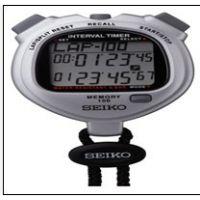精工S062倒计时计步器 SVAJ101太阳能秒表 划船比赛秒表