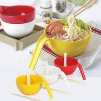 酷碗 时尚高雅不碎碗 泡汤面碗 韩式饭碗 创意美耐瓷碗