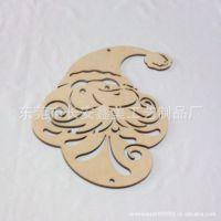 供应木质圣诞挂件 (激光切割加工)