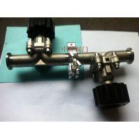 ¥真空隔膜阀 GM-16(F)P手动高真空隔膜阀 权柯