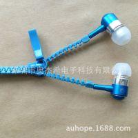 耳机厂家现货批发 彩色通用入耳式耳机带麦可印制LOGO 多色可选