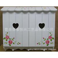 厂家批发木制电表箱 白色现代时尚精美壁挂遮挡装饰开关电柜箱