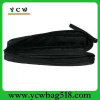 深圳龙岗厂家 订做黑色牛津布笔袋 简约时尚工具笔袋