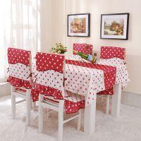 热销  新品田园风格桌椅套件 桌子罩  餐椅坐垫背垫    厂家直销