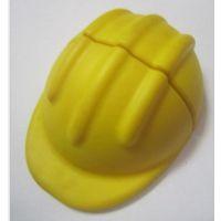 U盘工厂批发 车间工地工程帽U盘 P环保VC材质黄色安全帽优盘