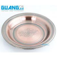 不锈钢泰花盘/泰式花盘(25-70cm) 广佳厨具