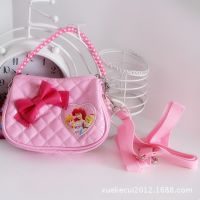 14年新款专柜正品迪士尼斜挎包公主小包女童小斜挎背包 零钱包包