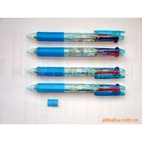 六色笔 厂家供应优质六色笔 创意广告笔 促销记号荧光六色笔批发