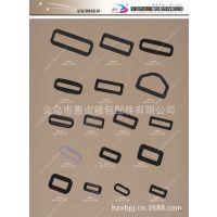 义乌惠贞供应ABS两档扣/黑色塑料25mm口字扣/塑料活动扣调节扣