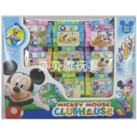 新款迪士尼卡通积木套装28PCS  儿童益智产品 九元九热卖 5603