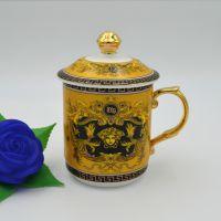预售金色范思哲茶杯茶具