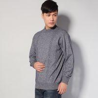批发供应羊毛衫男式秋冬装加厚超保暖毛衣 打底衫 羊绒衫
