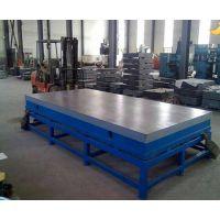 铸铁平台工作面的质量要求 铸铁平台的铸造生产工艺流程