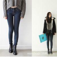 供应厂家直销淘宝女装网店免费代理分销牛仔裤一件代发品牌长裤