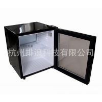 52L直流变频房车改装冰箱展示柜酒柜12V-24V-220V通用铝合金外壳