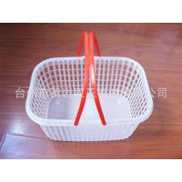 黄岩塑料模具 日用品模具 塑料箱模具 塑料篮模具 水果篮塑料模具