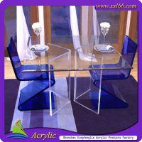 专业生产有机玻璃/亚克力/压克力休闲椅子/舒适椅子高档椅子