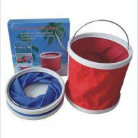 水桶 牛津布折叠水桶 优质牛津布折叠水桶 加印 广告牛津布水桶
