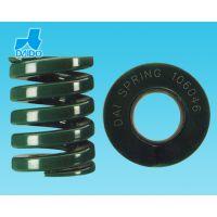 厂家直销正宗、精品日本大同弹簧 DAI SPRING 绿色重荷重DH系列16*60模具弹簧