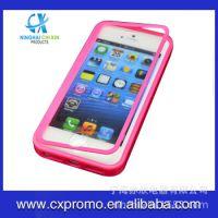 Iphone5软皮手机壳 5S透明触屏保护套 苹果5手机壳手机配件批发