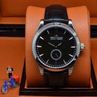 高档品牌男士商务手表 大师系列两针半男人真皮带腕表Q1358420