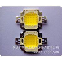 10W集成光源采用光宏45芯片 正白6000K 9串1并 质保三年