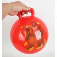 【乐乐宝】10寸手柄球 充气球手抓球 玩具球 '熊出没'授权 90g