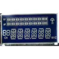 供应VA黑膜LCD液晶屏|无线话筒、无线麦克风、蓝底白字STN LCD液晶屏