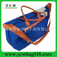 深圳龙岗手袋厂 加工生产 帆布 旅行袋 时尚休闲包