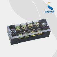 厂销大电流100A接线端子排 固定式4位端子台 板式压接接线