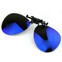 锐创 偏光夜视镜夹片 男女近视眼镜彩膜夹厂家直销CY1211018