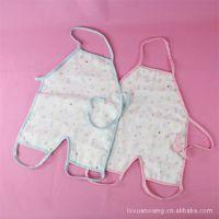 连脚肚兜6层纱布连腿童肚兜 宝宝小罩衣 婴儿肚兜 批发