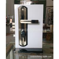 亚克力锁架 亚克力电子锁指纹锁展架 智能锁展示架