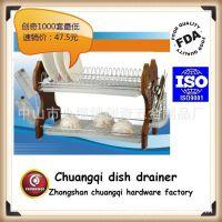 正规品质厨房用品沥水碗碟架CQ1018置物架生产厂家厂价直销