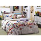 Soft Comfortable Cotton Floral Bedding Sets Queen With Russian Style