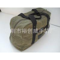 深圳手袋厂家直销 手提 24安 帆布旅行包 水洗帆布袋