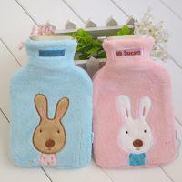 新品le sucre太子兔/砂糖兔可爱 粉 蓝大号 热水袋 批发一件代发