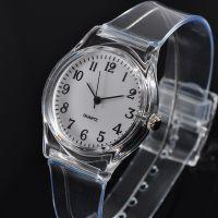 厂家直供石英表 塑胶透明PVC手表小清新森女软妹表 现货批发