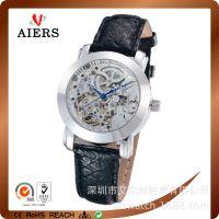 镂空机械手表、欧美风商务表、中国式军表、厂家订制
