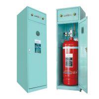 柜式无管网七氟丙烷气体自动灭火装置