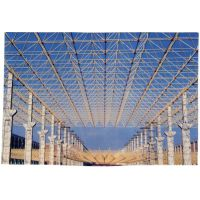 供应烟厂新建联合工房网架钢结构设计施工