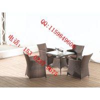 舒纳和家具厂直销 三亚批发户外桌椅 咖啡桌椅 仿藤家具