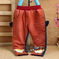 【都市贝贝】2014秋冬 双层男童裤 KGY1662  儿童牛仔裤