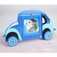 带轮小汽车相架 交通工具 造型玩具  个性小礼品 儿童相框