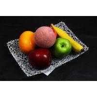 铁艺果盘客厅茶几家居装饰品,精美铁艺水果篮,铁制工艺XA82126