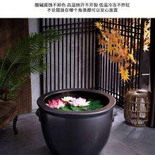一米大缸报价 公司摆设风水大缸图片 景德镇建源陶瓷缸厂家