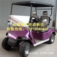 无锡锡牛镇江2座电动高尔夫球车 物业保安巡逻电瓶车 老年代步车 厂家直销