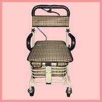 河北祥鑫厂家直销供应便携椅子购物车 可折叠式老年购物车